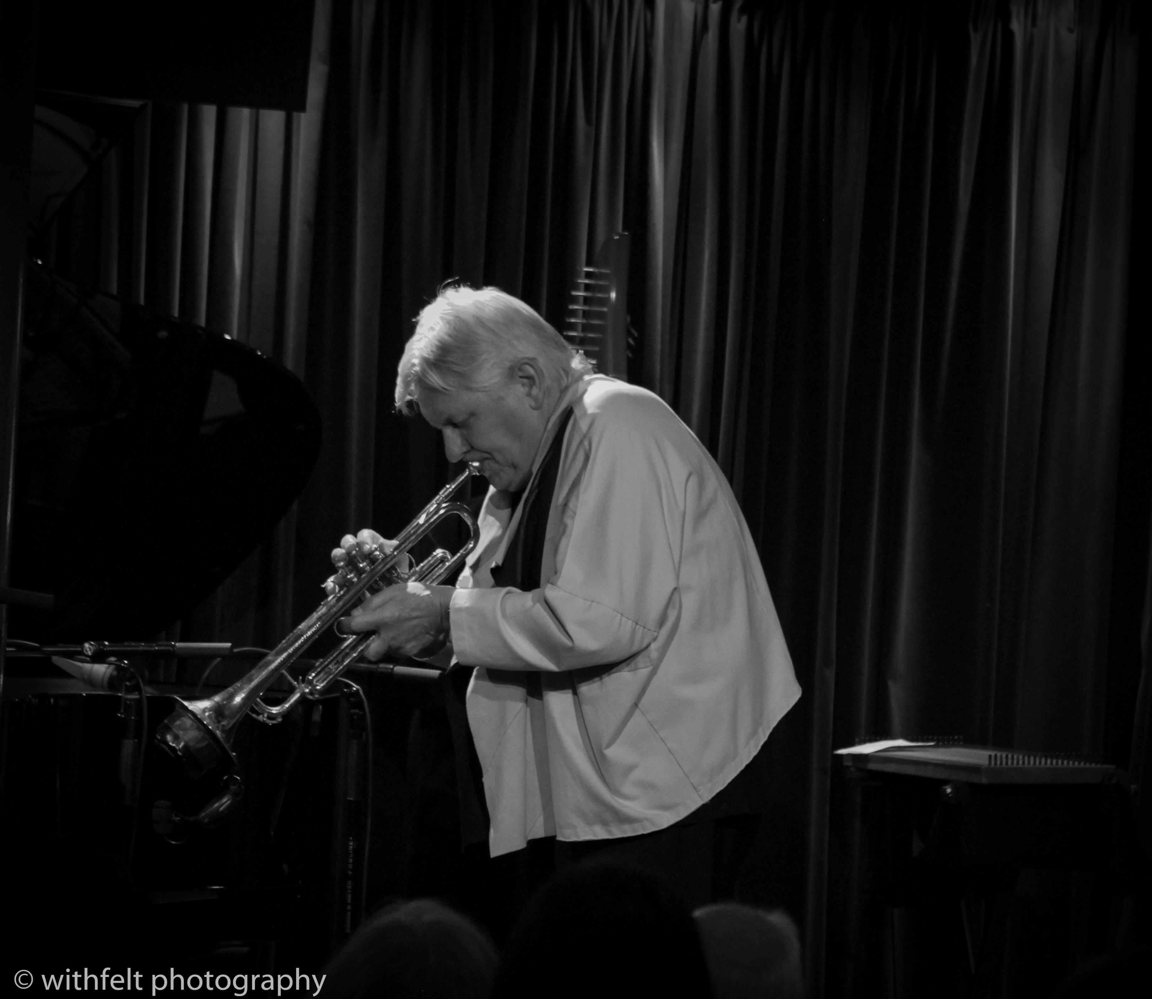 Palle Mikkelborg (Tp) at Jazzhus Montmartre, Copenhagen, Denmark 03.10.2014