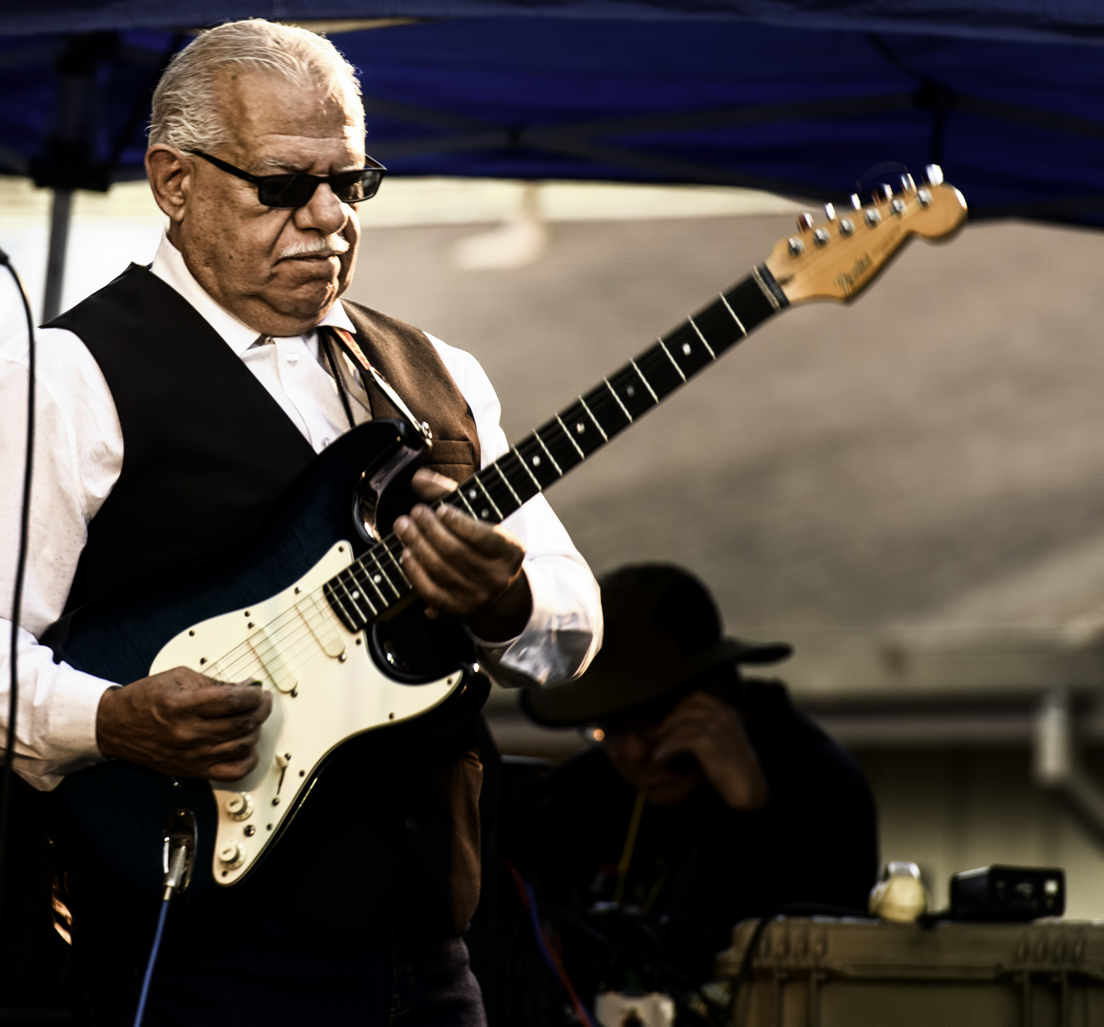 Ray Obiedo with the Latin Jazz Project at the Monterey Jazz Festival