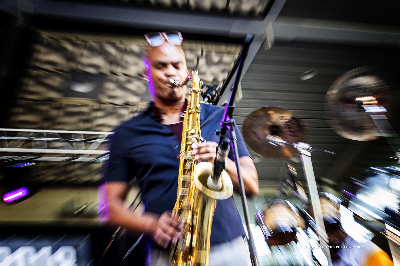 Wayne Escoffery at the 2018 Charlie Parker Jazz Festival