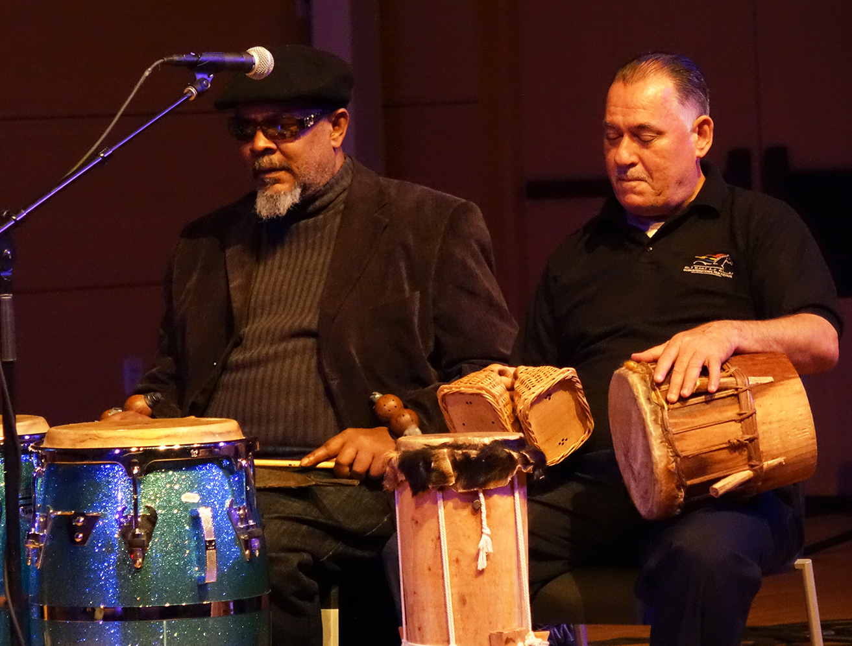 Roman Diaz & Frank Oropesa at NYC Winter JazzFest 2016