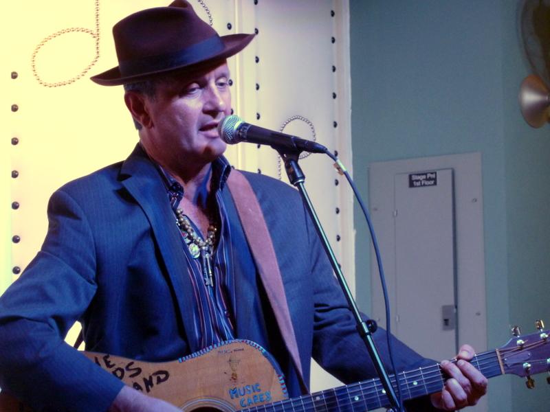 Paul Sanchez at the Little Gem Saloon