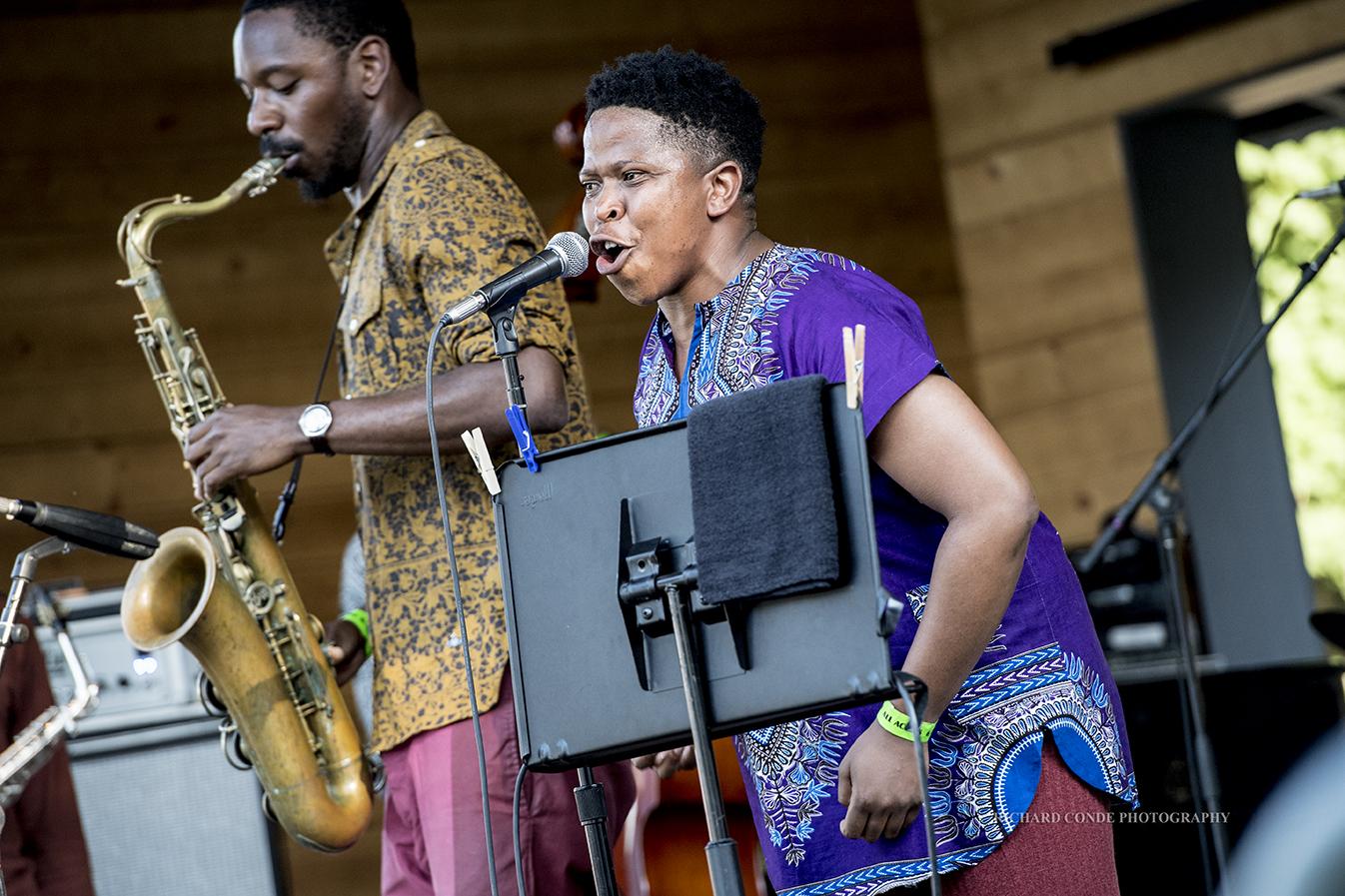 Shabaka and The Ancestors at the Freihofer Saratoga Jazz Festival 2017