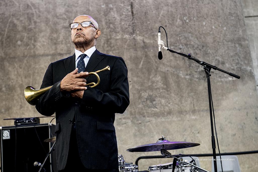 Eddie Henderson at the 2017 Detroit Jazz Festival