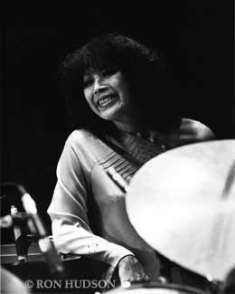 Toshiko Akiyoshi at the Monterey Jazz Festival in 1985