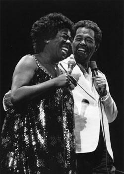 Billy Eckstein & Sarah Vaughn at the Monterey Jazz Festival in 1981