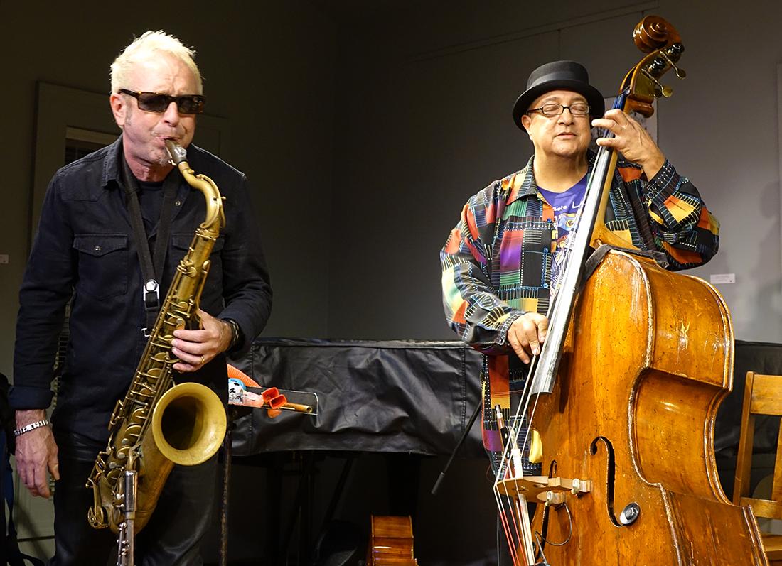 Mars Williams and Harrison Bankhead at Edgefest 2014