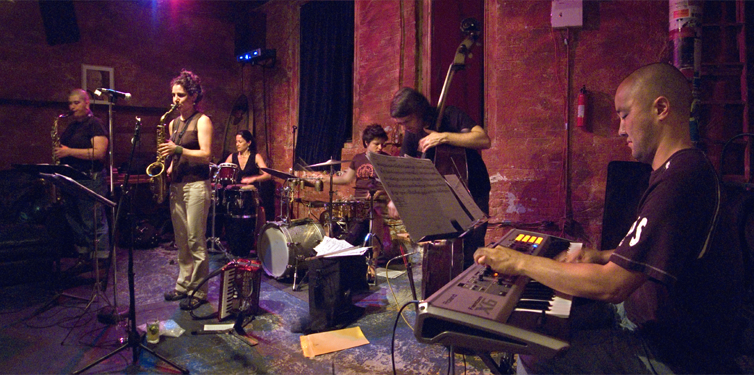 Jessica Lurie Ensemble with Todd Sickafoose, Allison Miller, Art Hirahara, Tina Richerson, Elizabeth Pupo-Walker - TL 2007