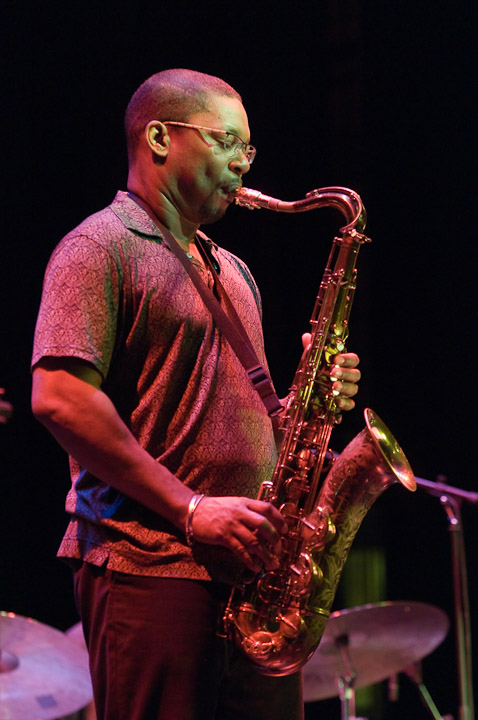 Ravi Coltrane at the Cheltenham Jazz Festival