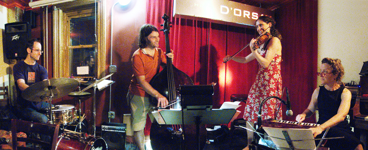 Jenny Scheinman's Shalagaster Band with Myra Melford, Todd Sickafoose and Mark Ferber - Barbs 2005