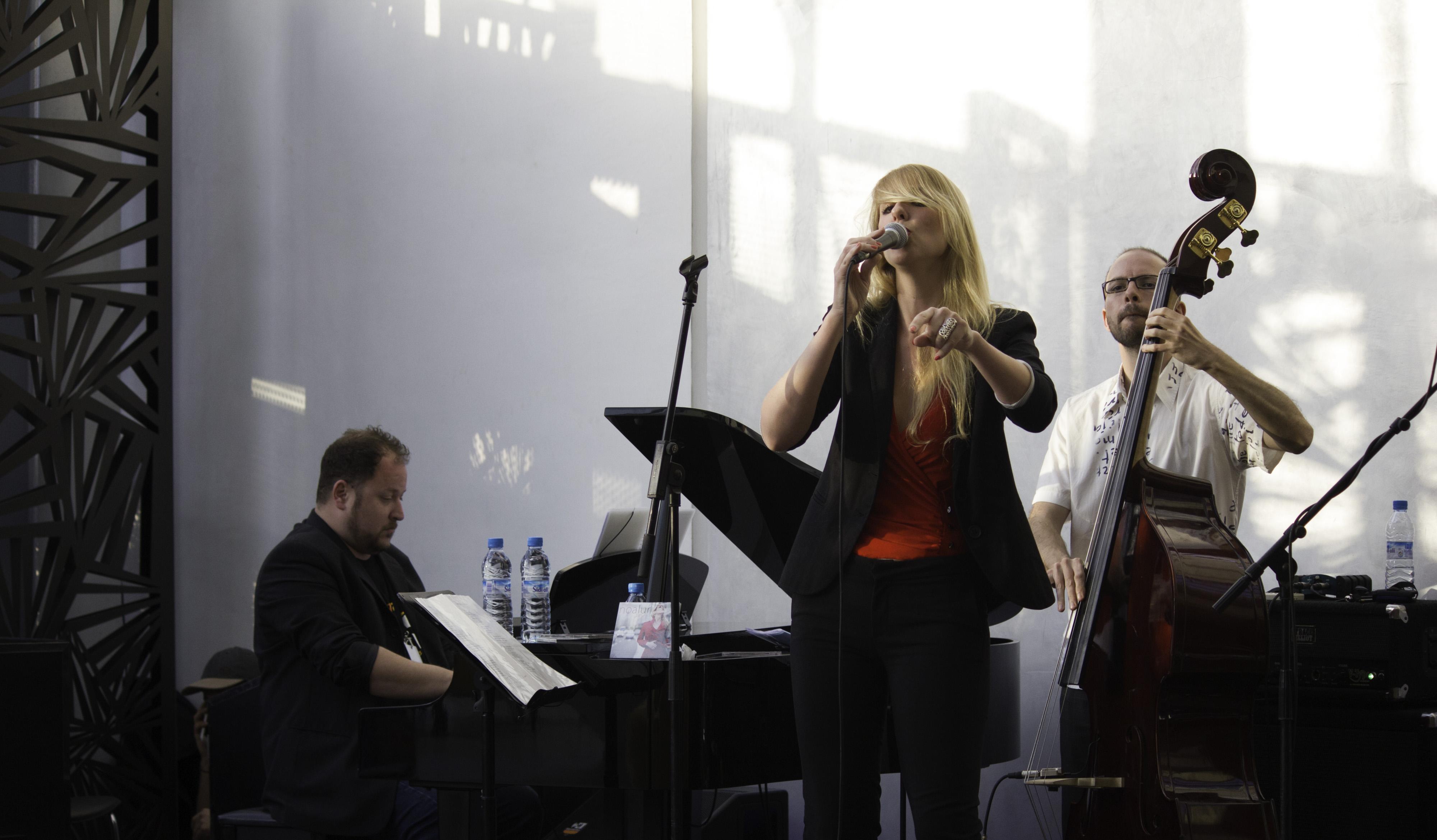 Noa Lur at Jazzablanca Festival 2015