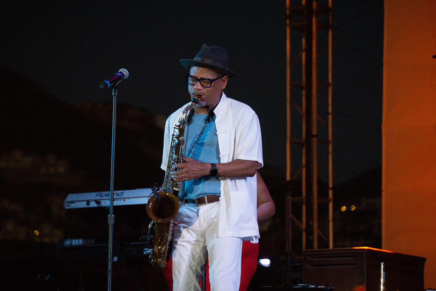 Saxophonist Kirk Whalum Takes The Crowd To Church At Life Luxe Jazz