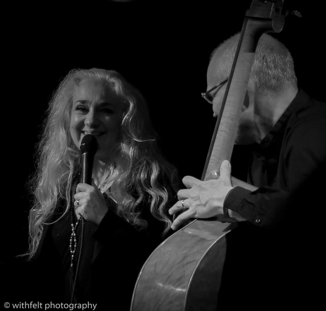 Caecilie Norby & Lars Danielsson at Copenhagen Jazz Festival 2016 in Krudttønden, Copenhagen