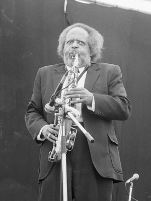 Jaki Byard 0324214 First Pendley Int. Jazz Fest., UK July 1985 Image of Jazz