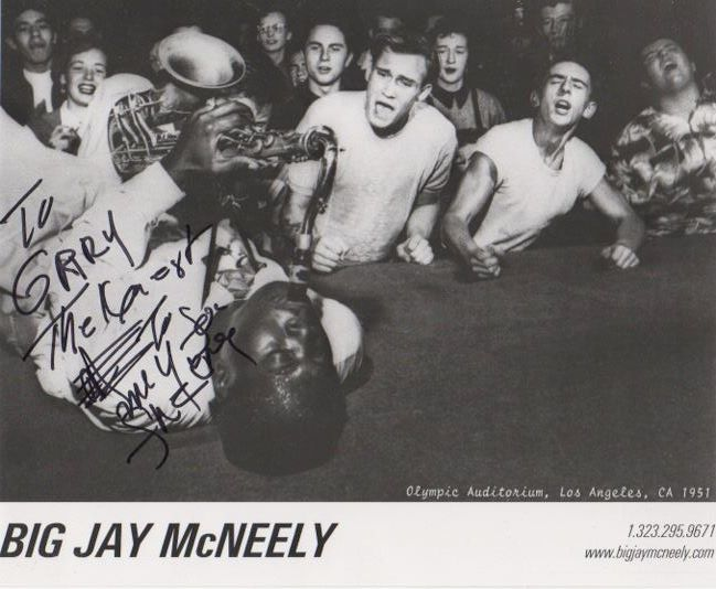 Big Jay McNeely and Detroit Gary Wiggins