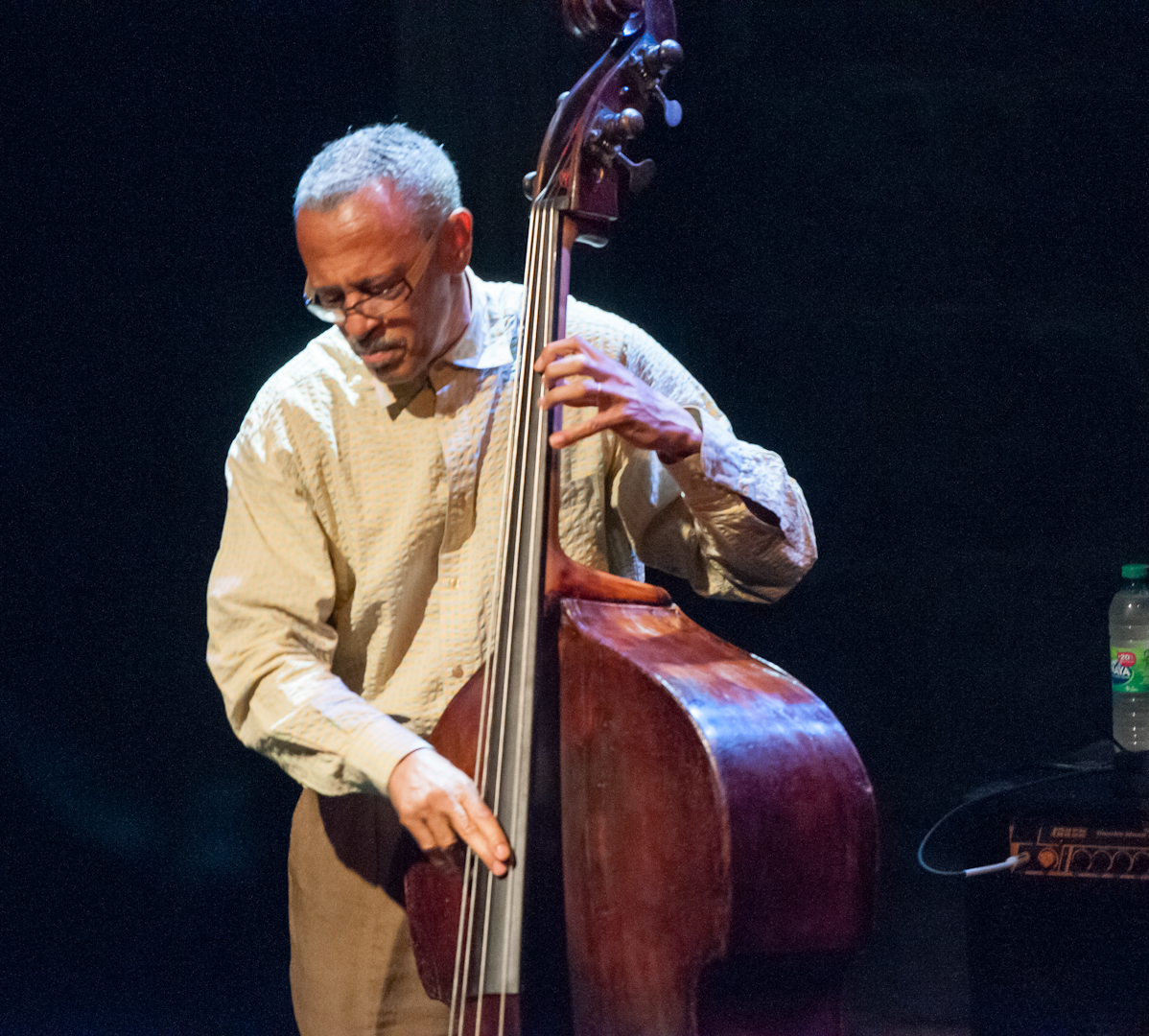 David Williams with the Cedar Walton Trio at the Montreal International Jazz Festival 2012
