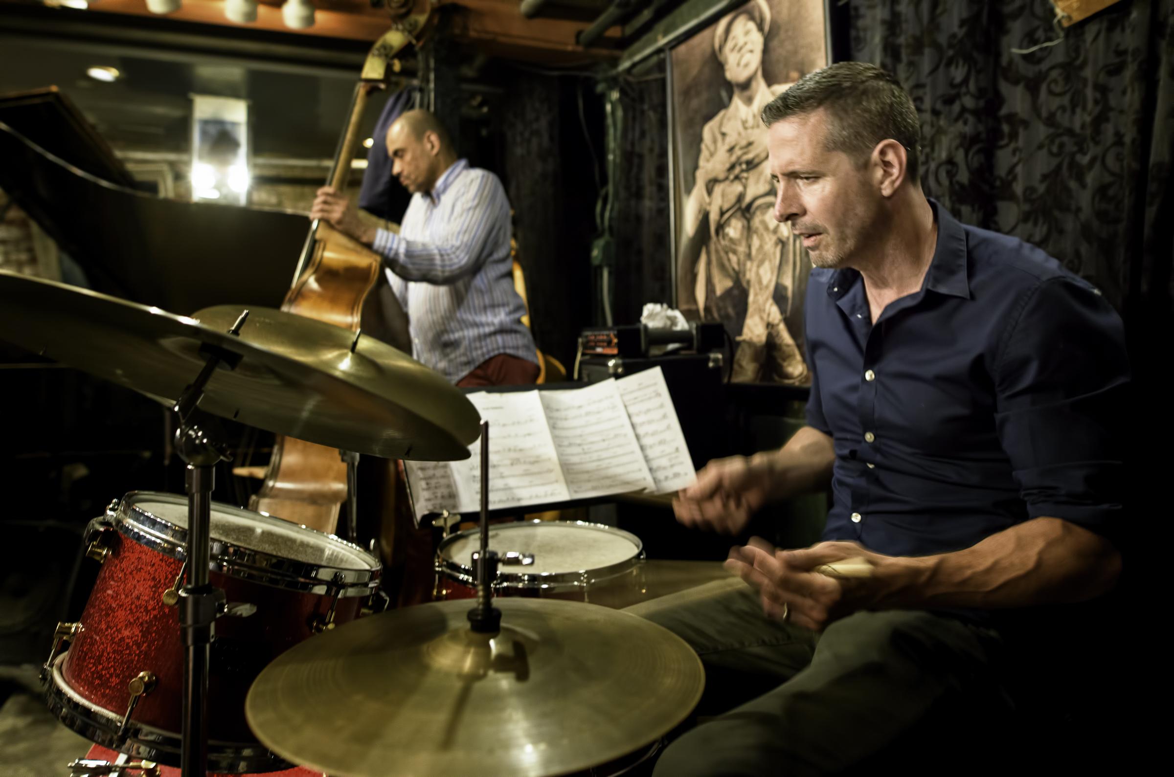 Jason Tiemann and Ugonna Okegwa with the Walt Weiskopf Quartet at Smalls Jazz Club