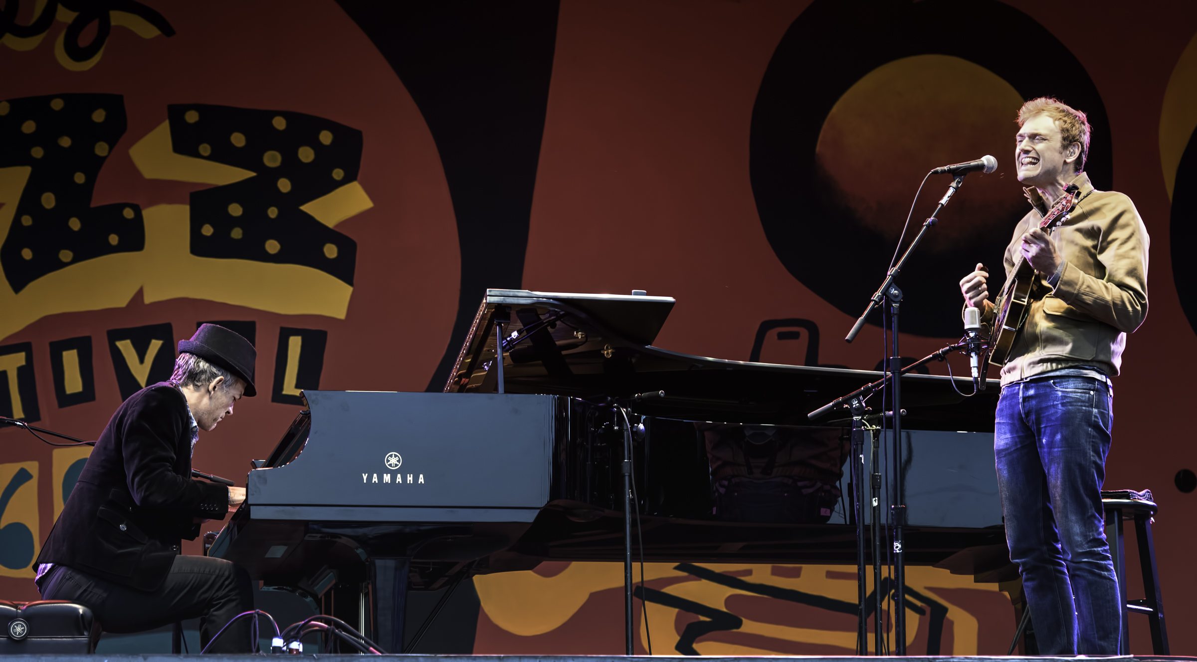 Brad Mehldau and Chris Thile at the Monterey Jazz FestivalBrad Mehldau and Chris Thile at the Monterey Jazz Festival