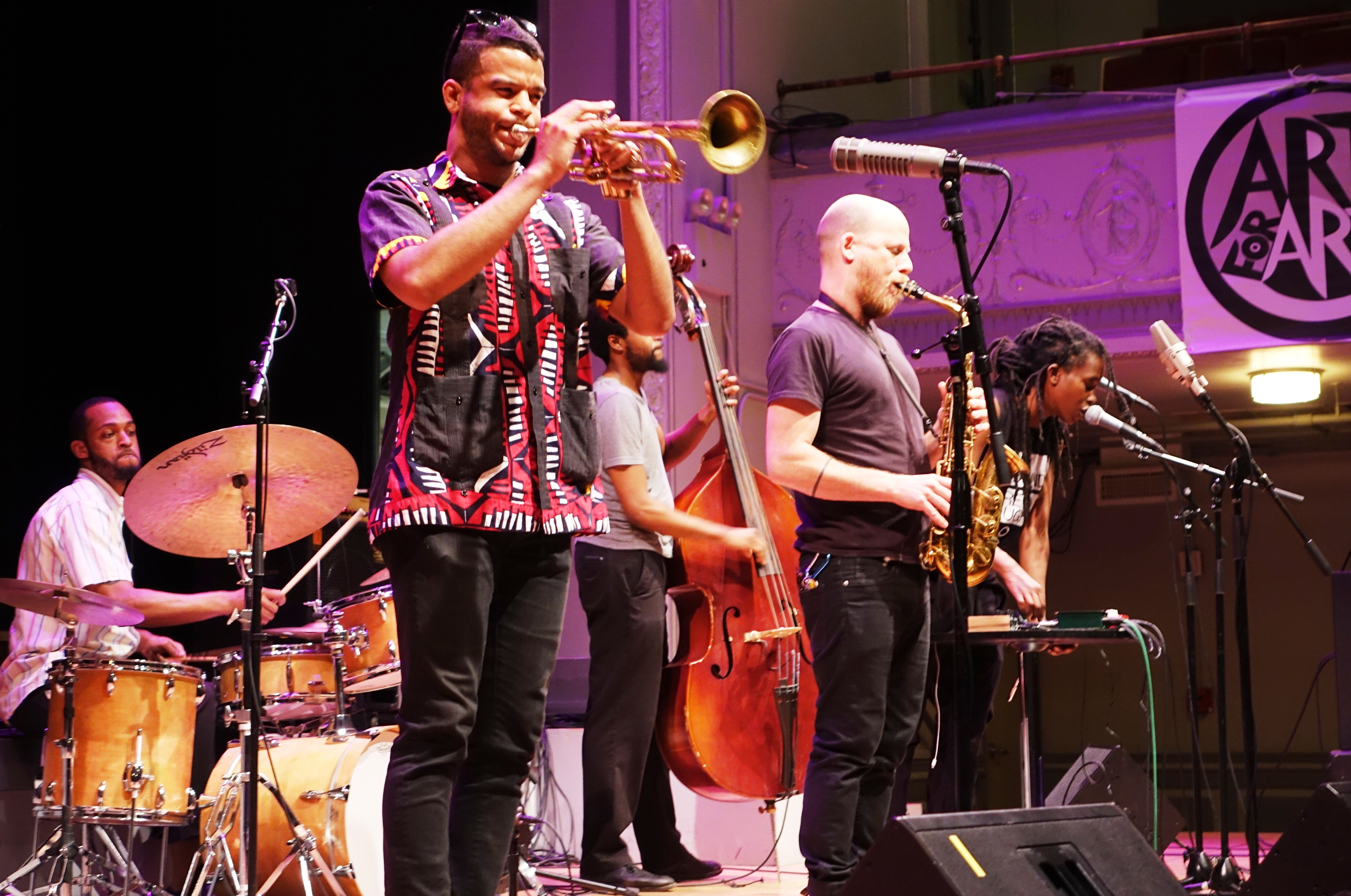 Irreversible Entanglements at the Vision Festival at Roulette, Brooklyn in May 2018