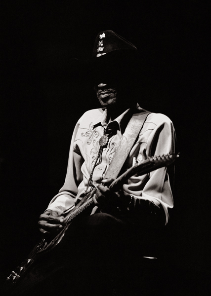 """Clarence """"Gatemouth"""" Brown Congress and Cultural Center Cankarjev Dom, 10th of February 1998 Ljubljana, Slovenia"""