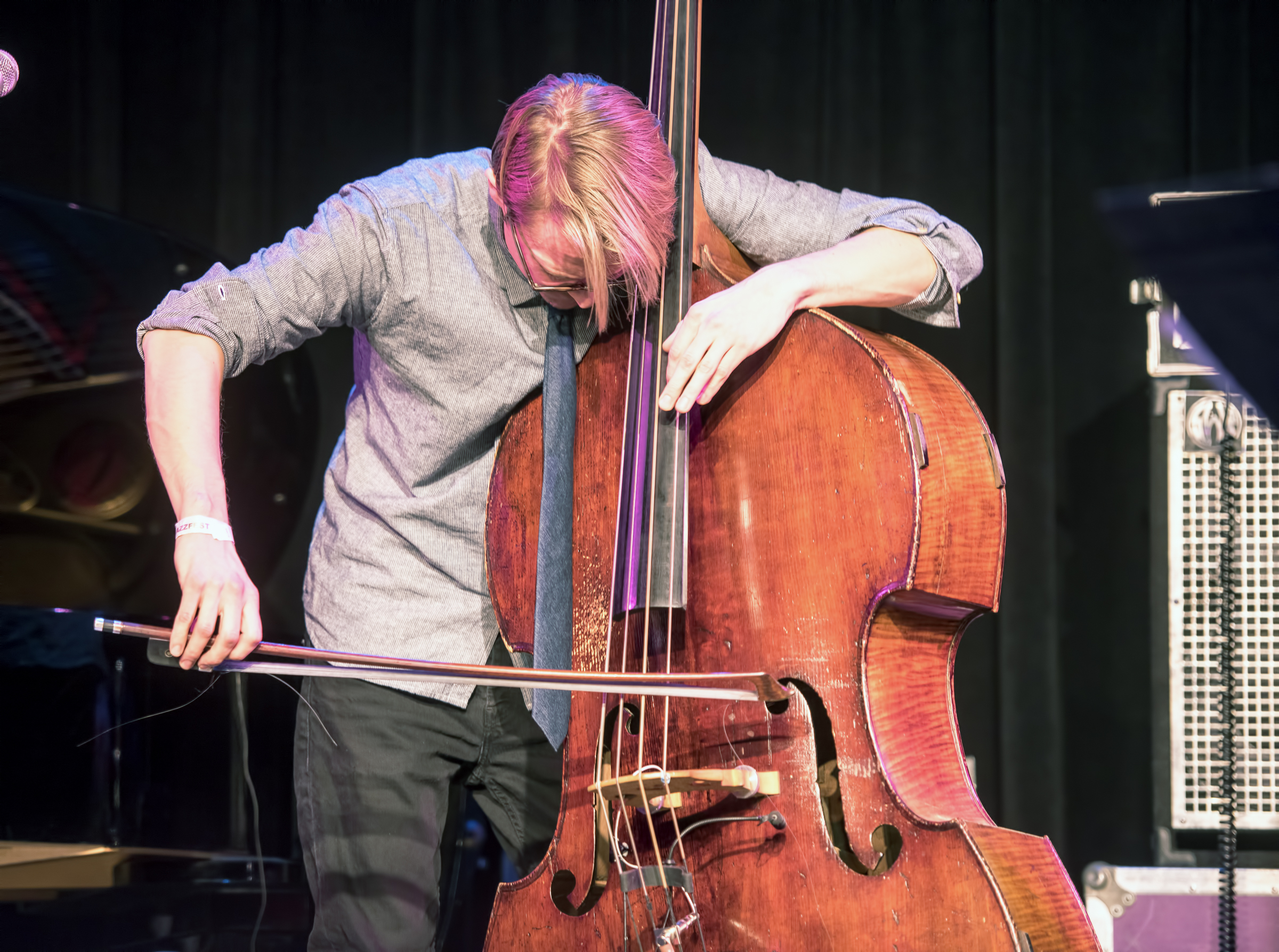 Eivind Opsvik with Overseas at the Nyc Winter Jazzfest 2015