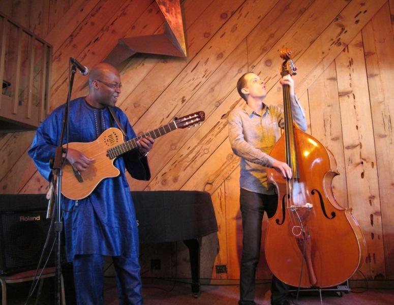 Lionel Loueke Trio: Half Moon Bay, CA, May 22, 2011