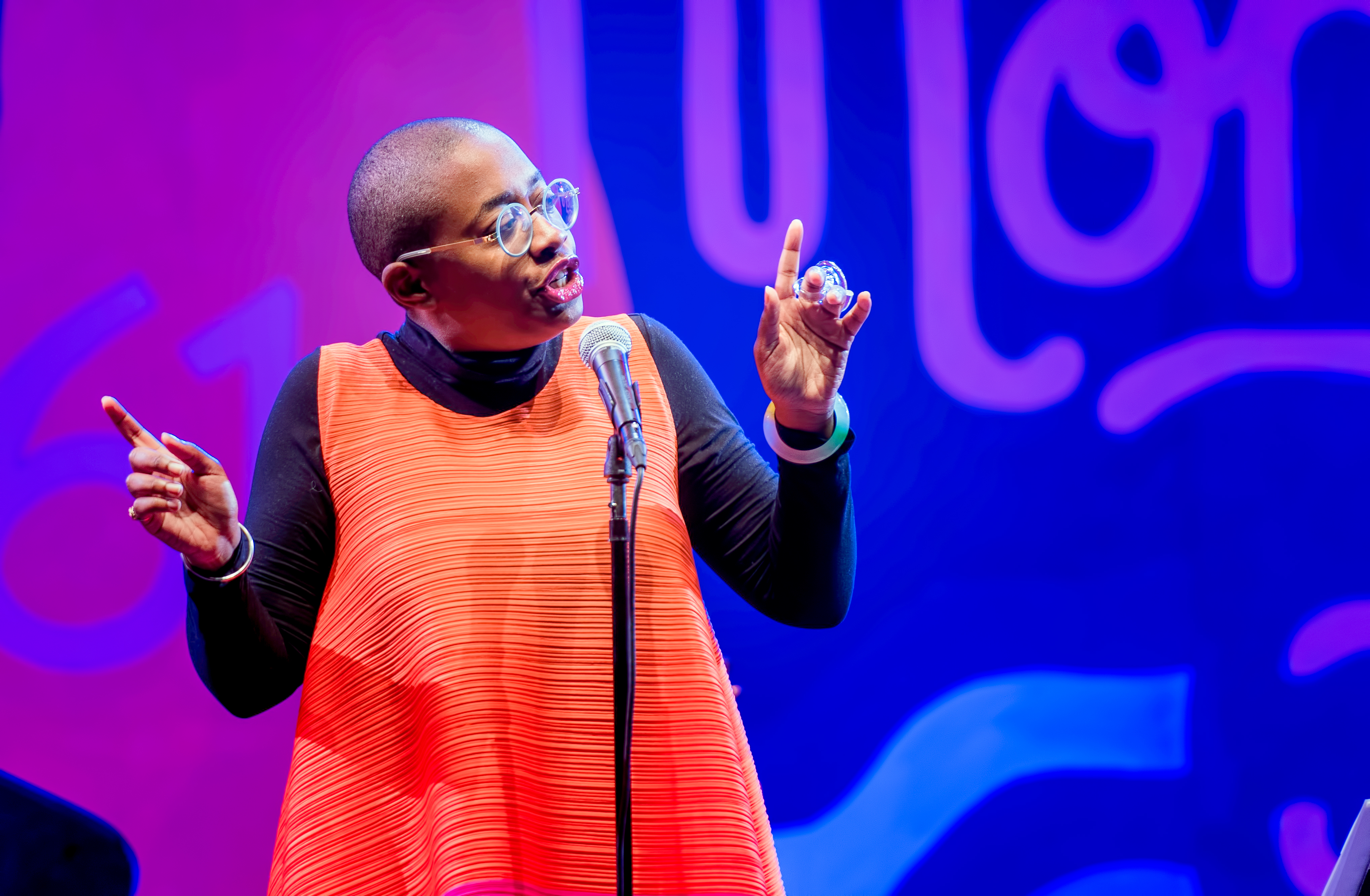 Cécile McLorin Salvant with MJF on Tour 60th Anniversary Edition at the Monterey Jazz Festival 2018