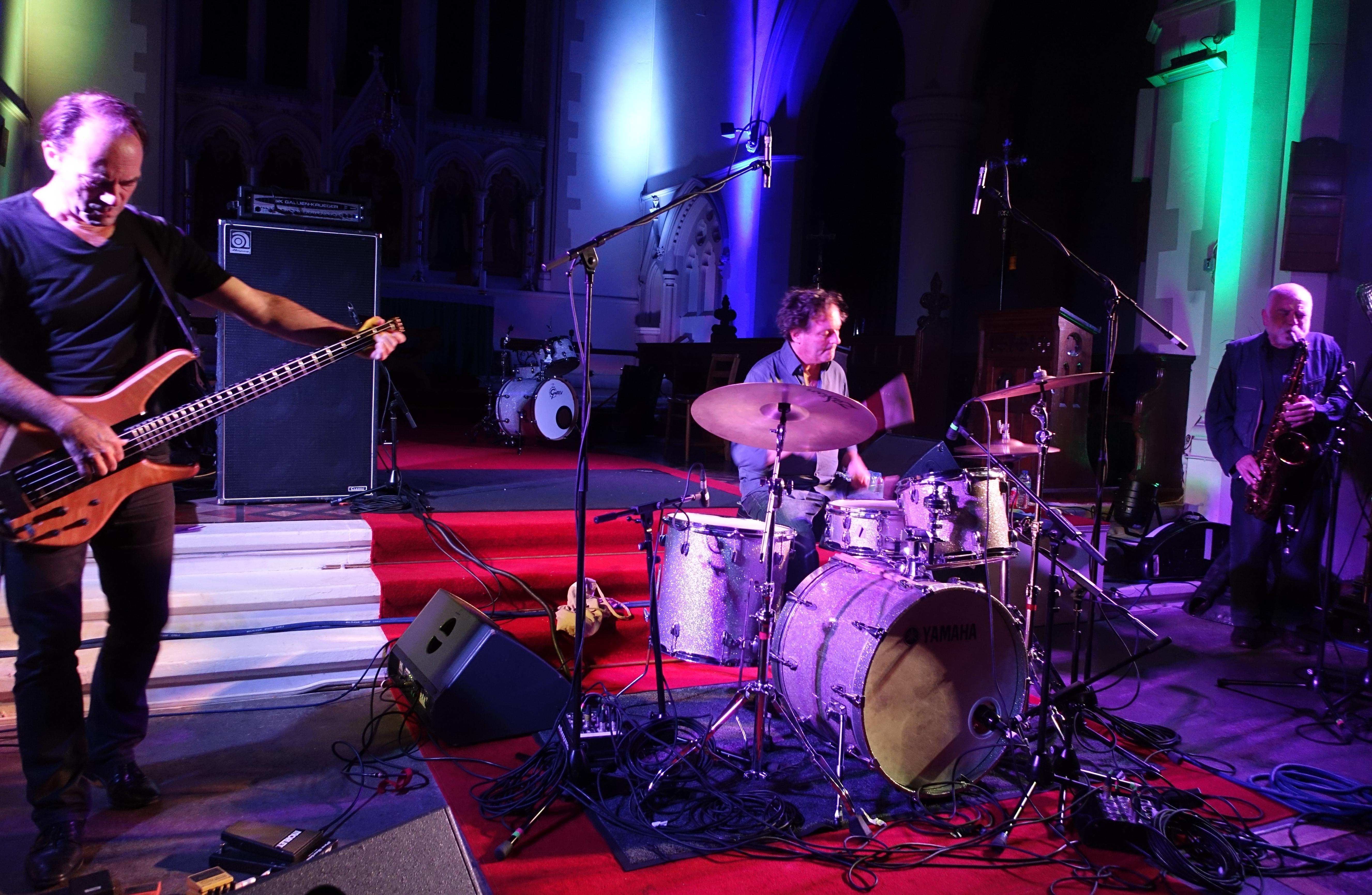 Peter Brötzmann's Full Blast Trio at Brighton Alternative Jazz Festival in October 2018