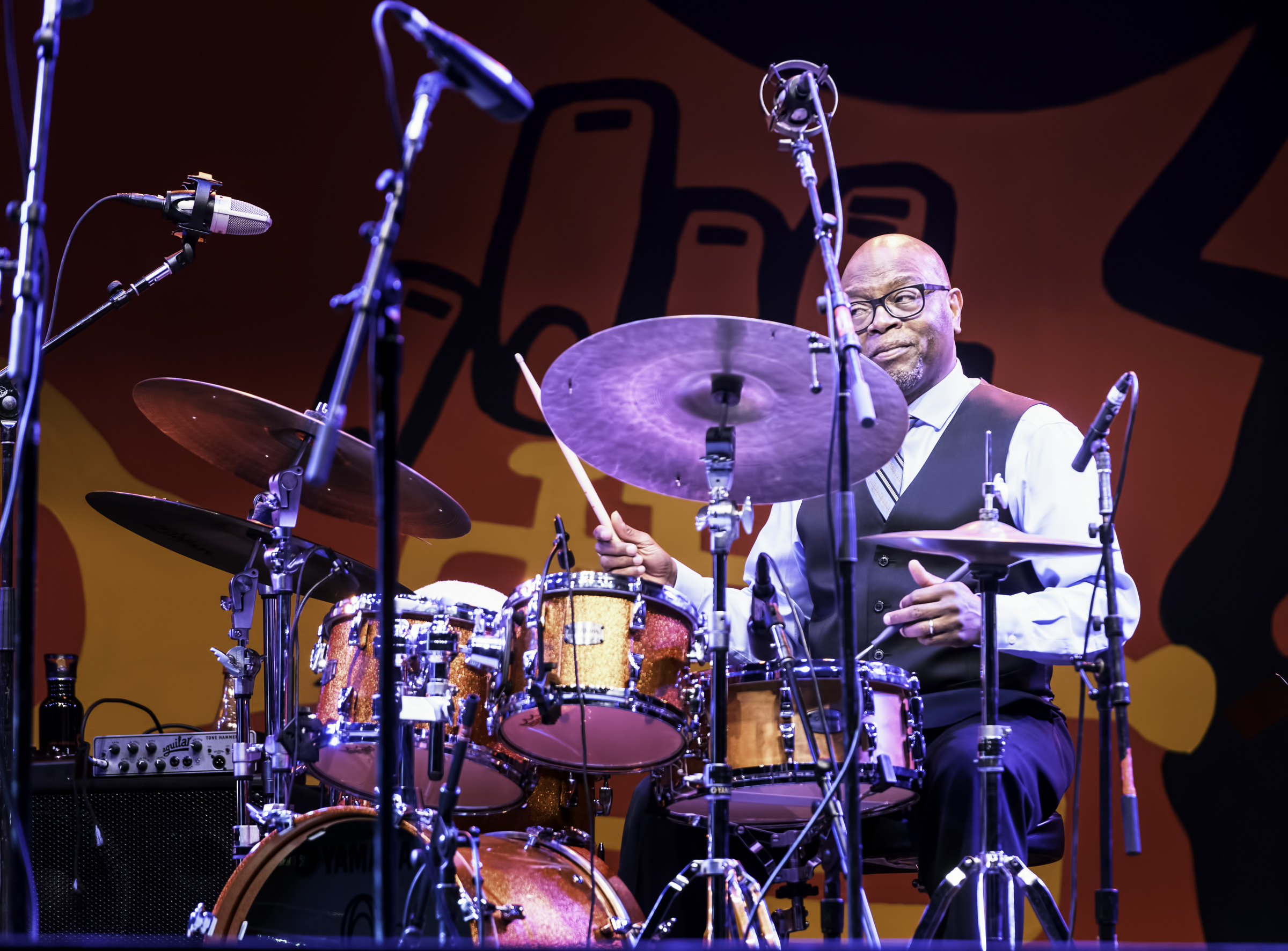 Lewis Nash with A Tribute to Sonny Rollins at the Monterey Jazz Festival