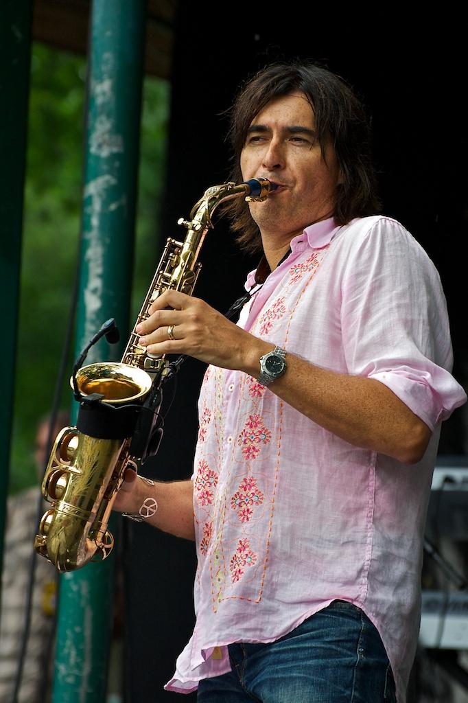Warren Hill, Beaches International Jazz Festival 2010