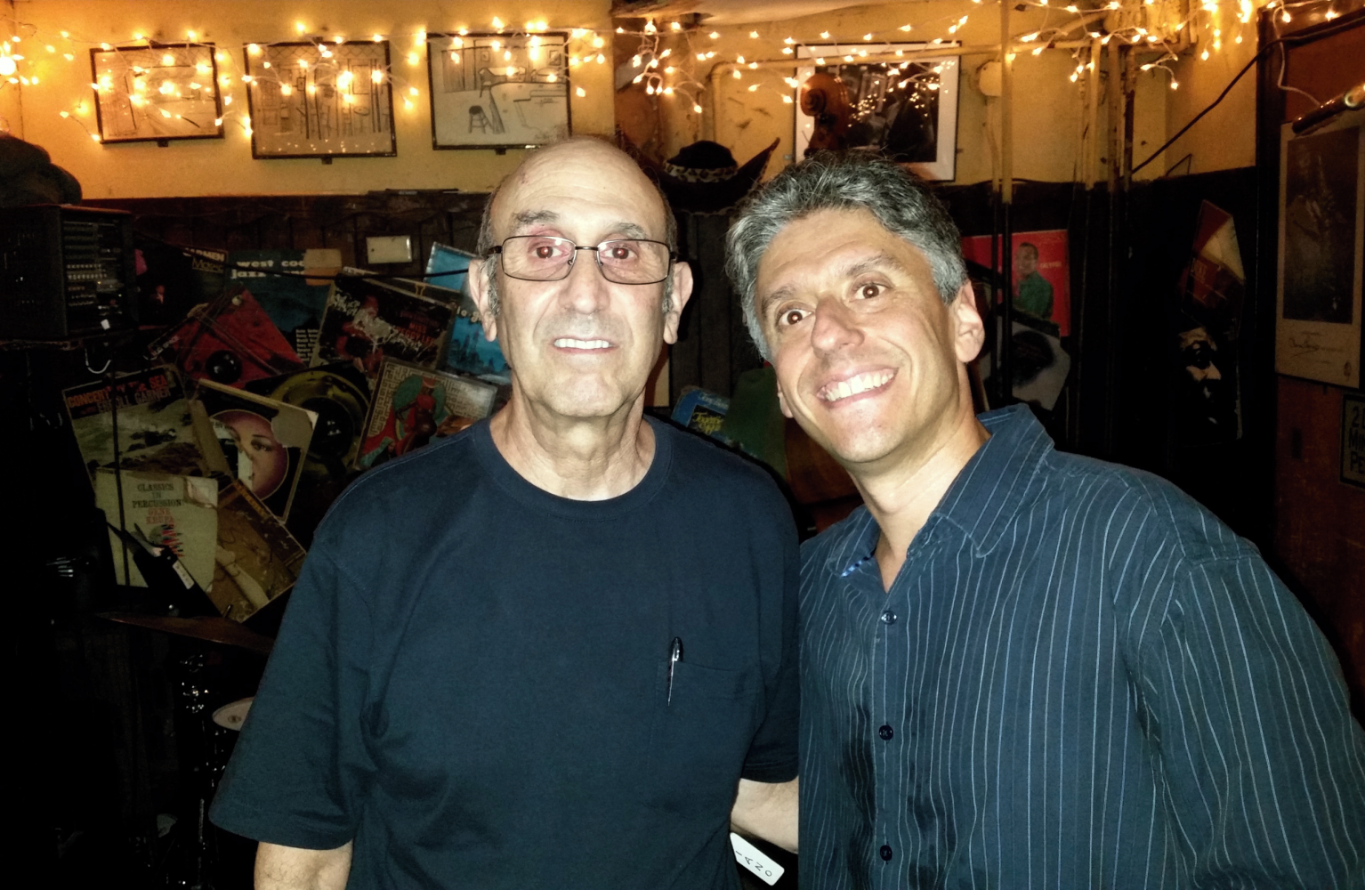Don Shire And Gary Versace At 55 Bar