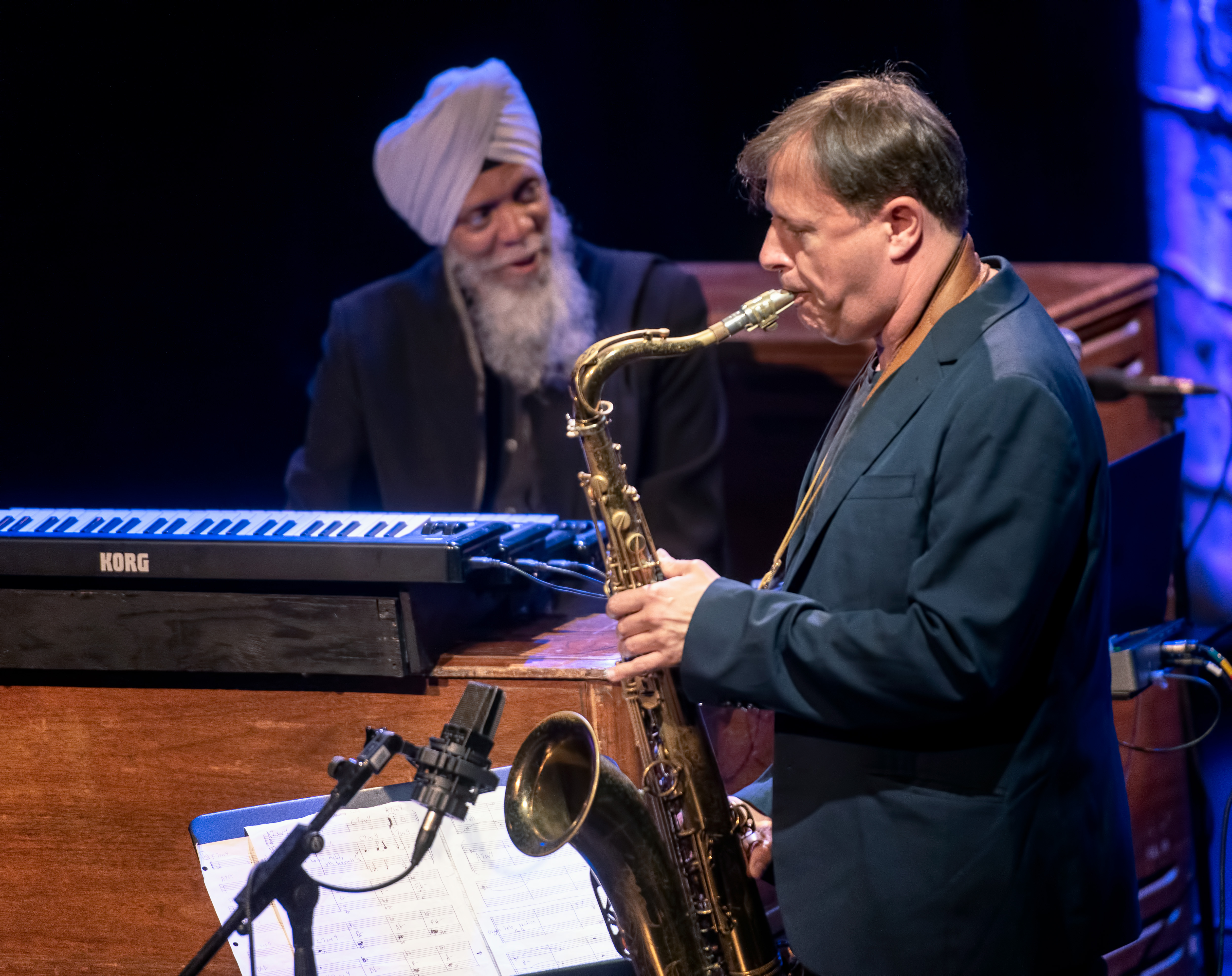 Dr. Lonnie Smith And Chris Potter At The Montreal International Jazz Festival 2018