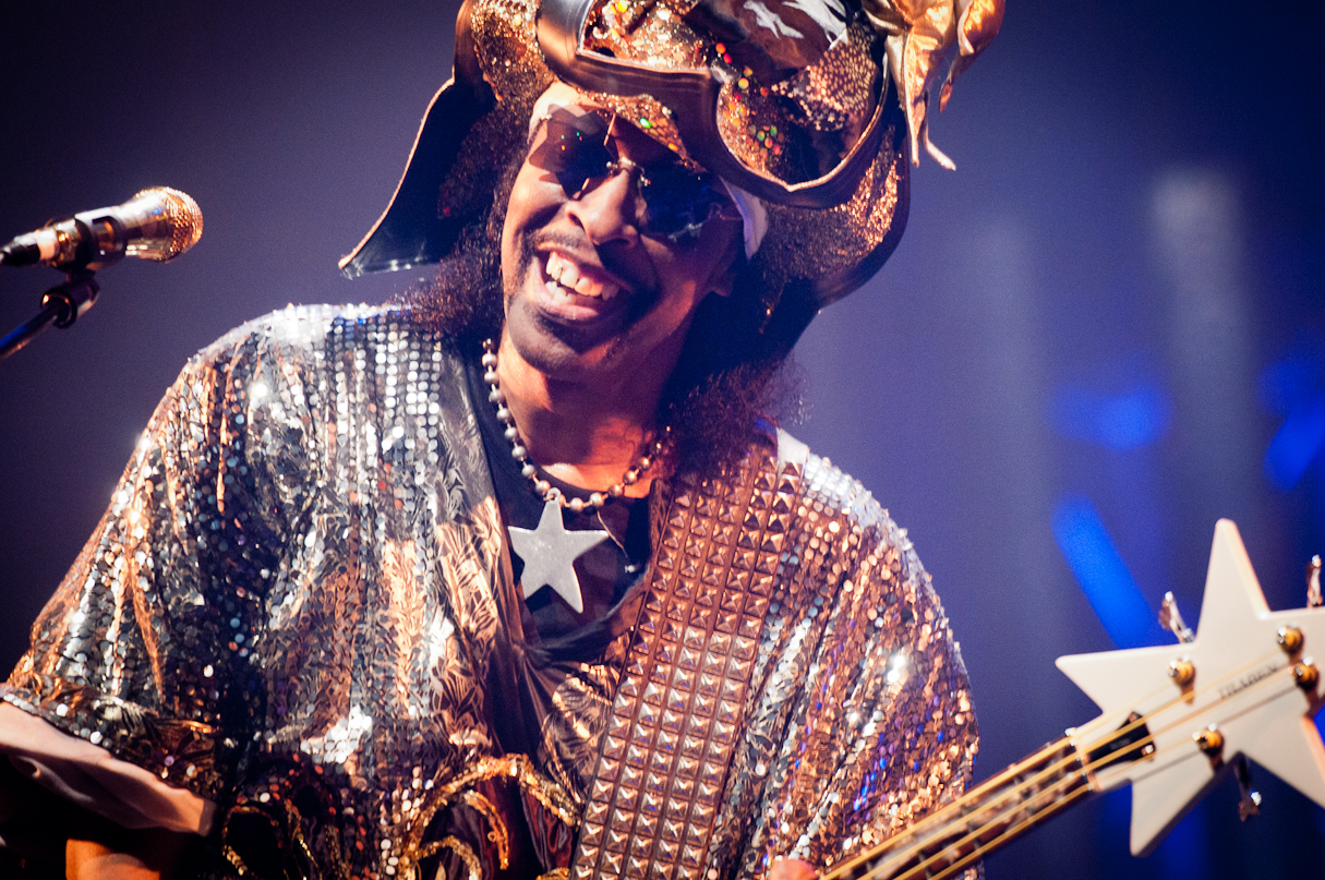 Bootsy Collins at the Montreal International Jazz Festival 2011