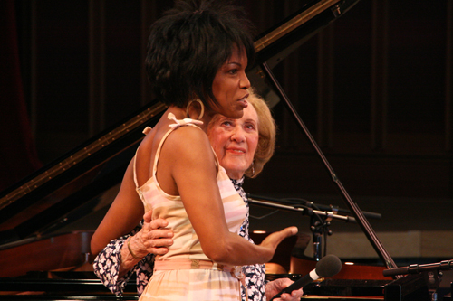 Nnenna Freelon and Marian McPartland