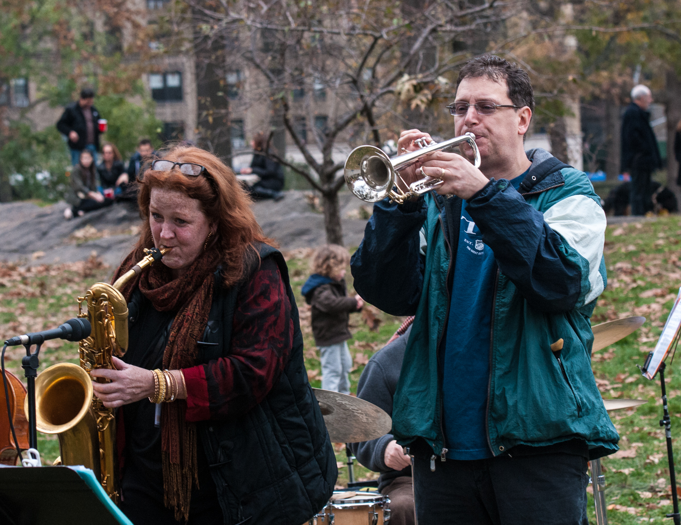 Claire Daly at Jazz and Colors in Central Park