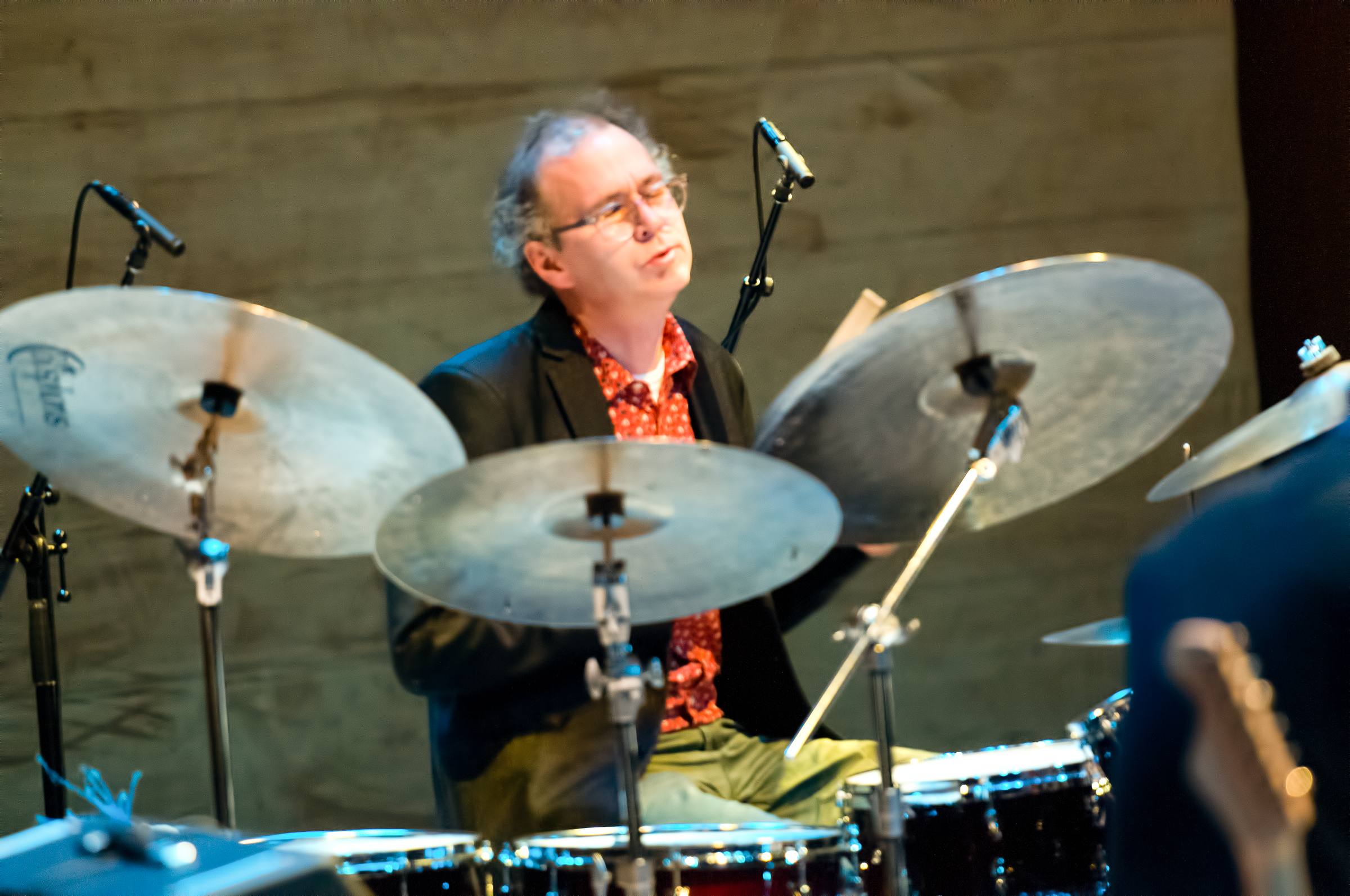 Kenny Wollesen with the Bill Frisell Quartet at the Musical Instruments Museum (Mim) in Phoenix