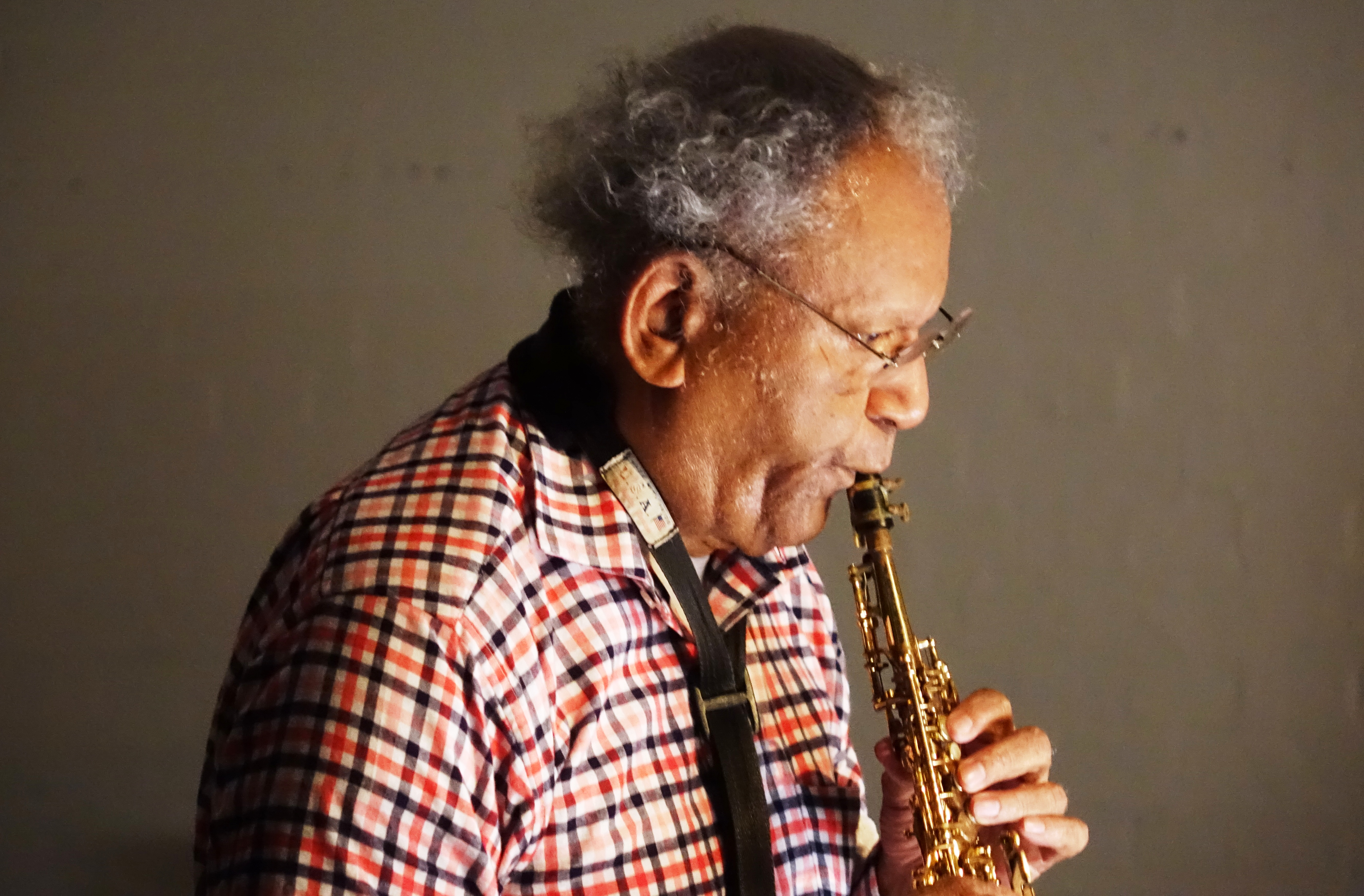 Anthony Braxton at Cafe Oto, London in May 2018