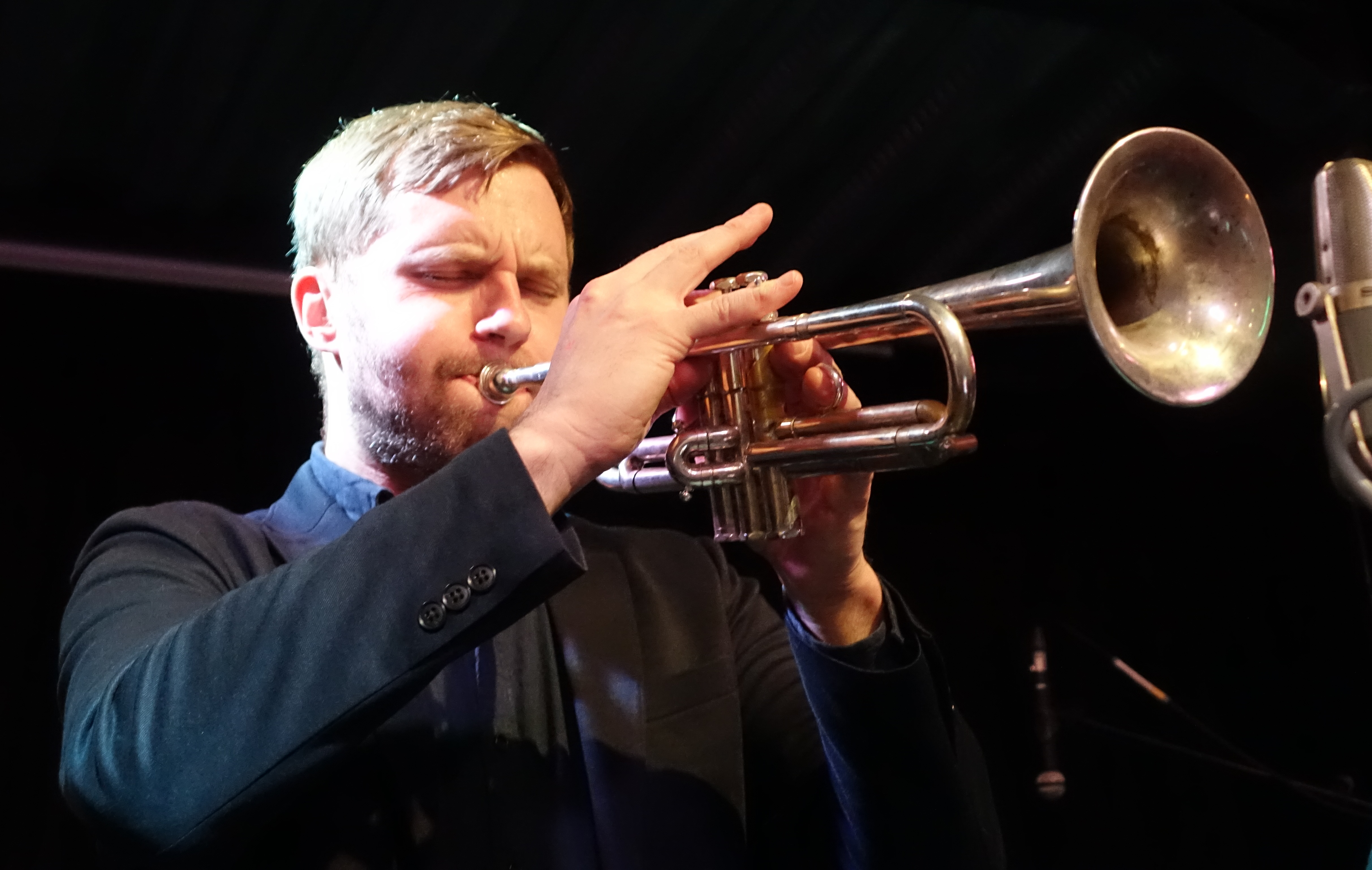 Peter Evans at the Vortex, London in December 2017