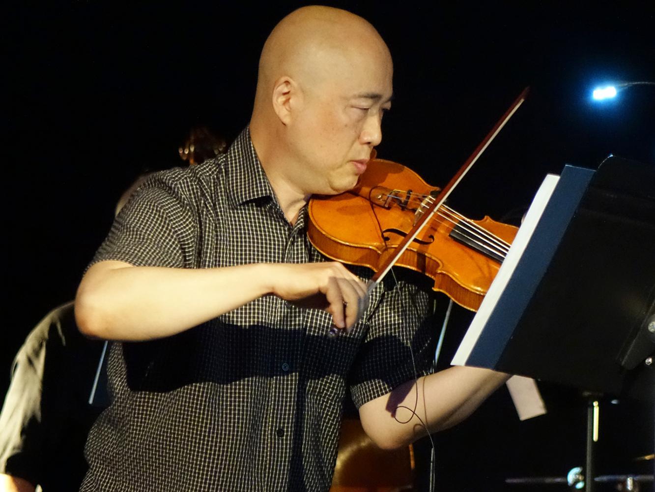 Jason Kao Hwang at Vision 22