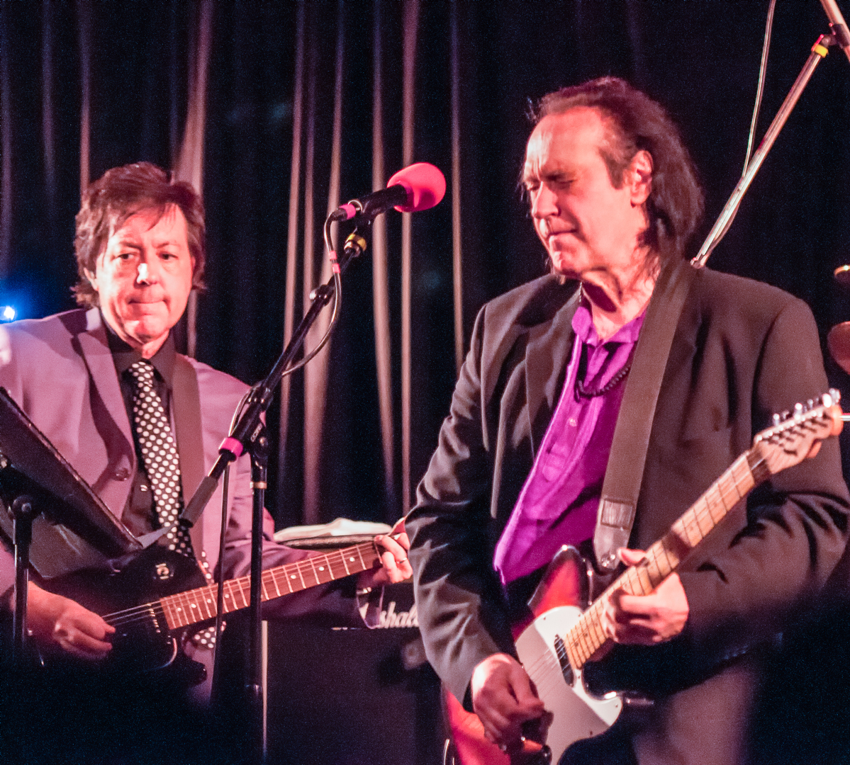 Dave davies and jonathan lea at the coach house in san juan capistrano