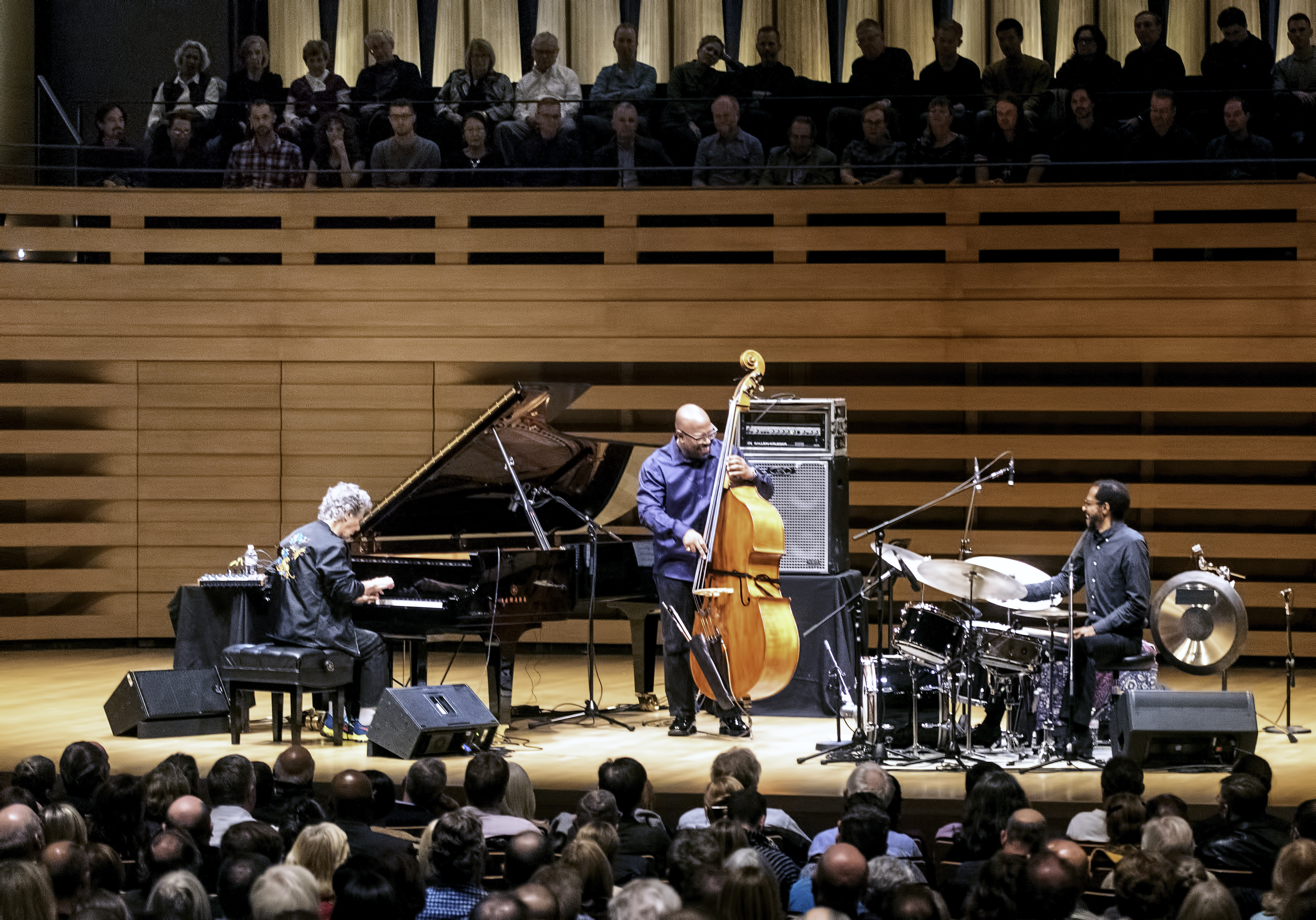 Chick Corea, Christian McBride and Brian Blade with Trilogy at Koerner Hall In Toronto