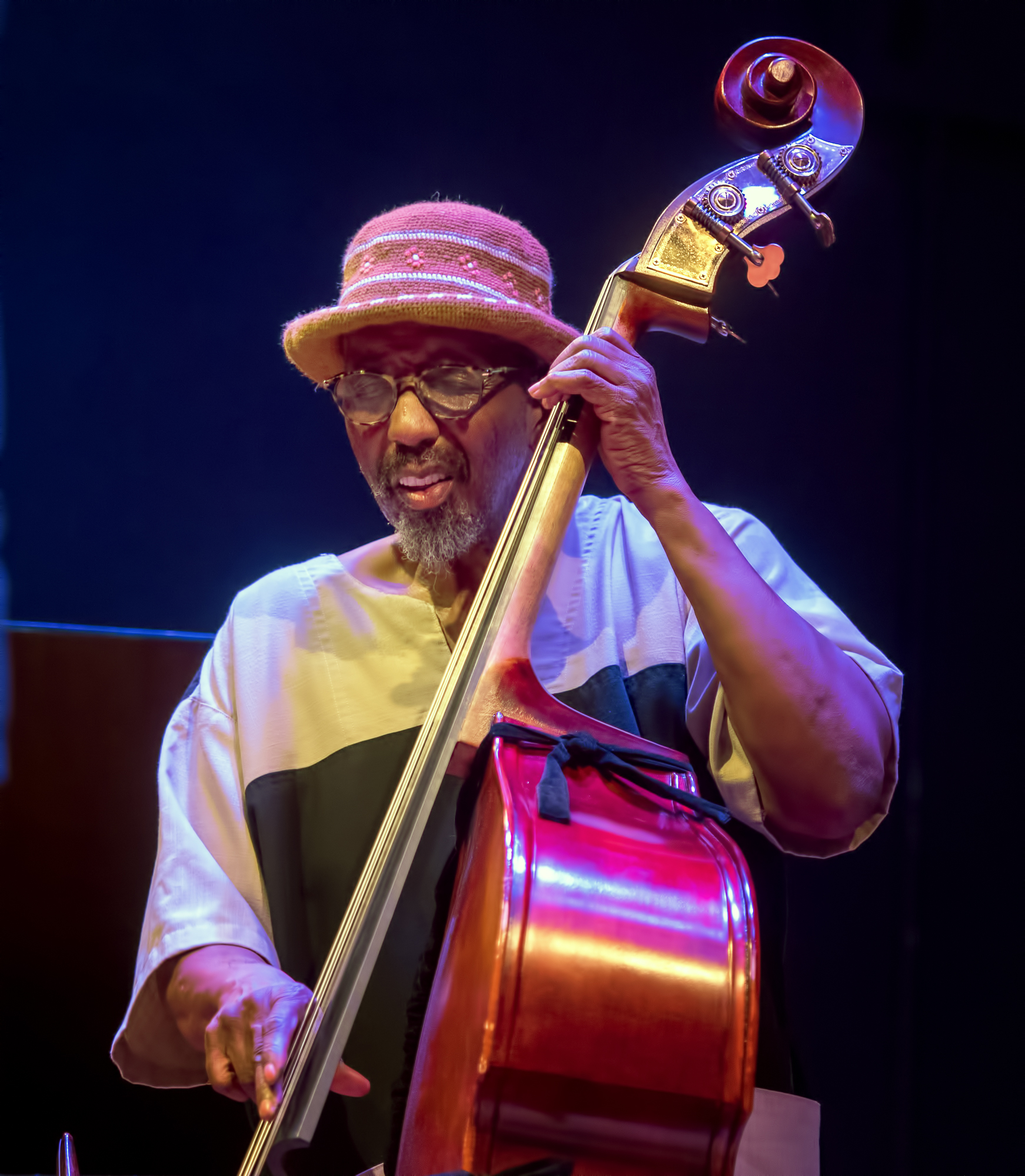 William Parker with the Dave Burrell Quintet At the Vision Festival 2018