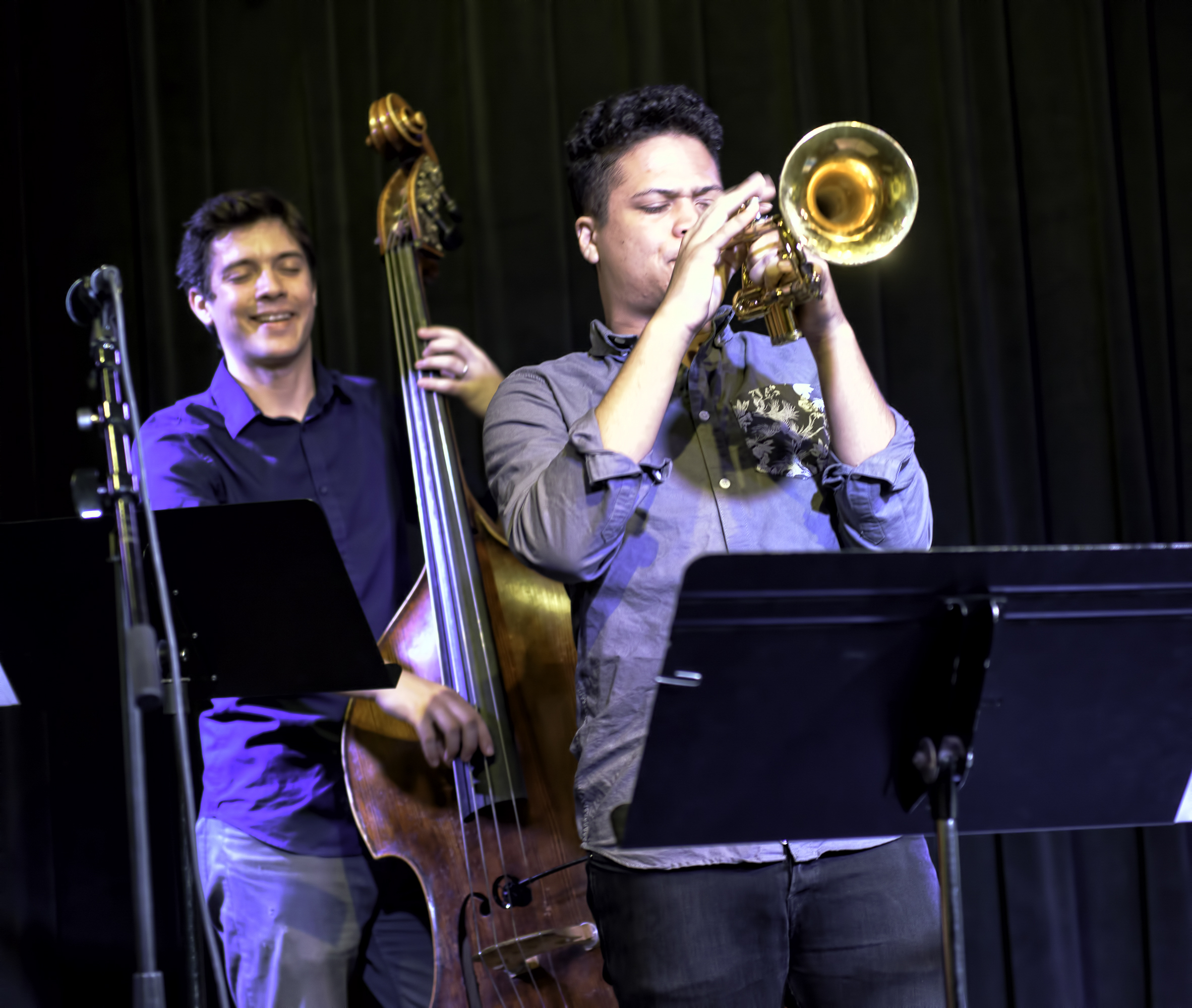 Noah Simpson And Will Goble With The Noah Simpson Quartet