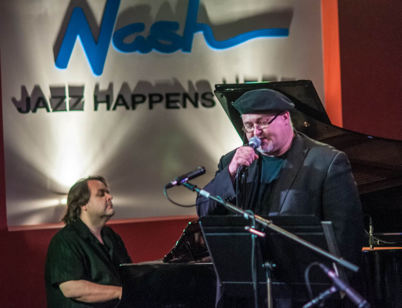 Nick Manson And Dmitri Matheny With The Jazz Noir Project At The Nash In Phoenix, Arizona