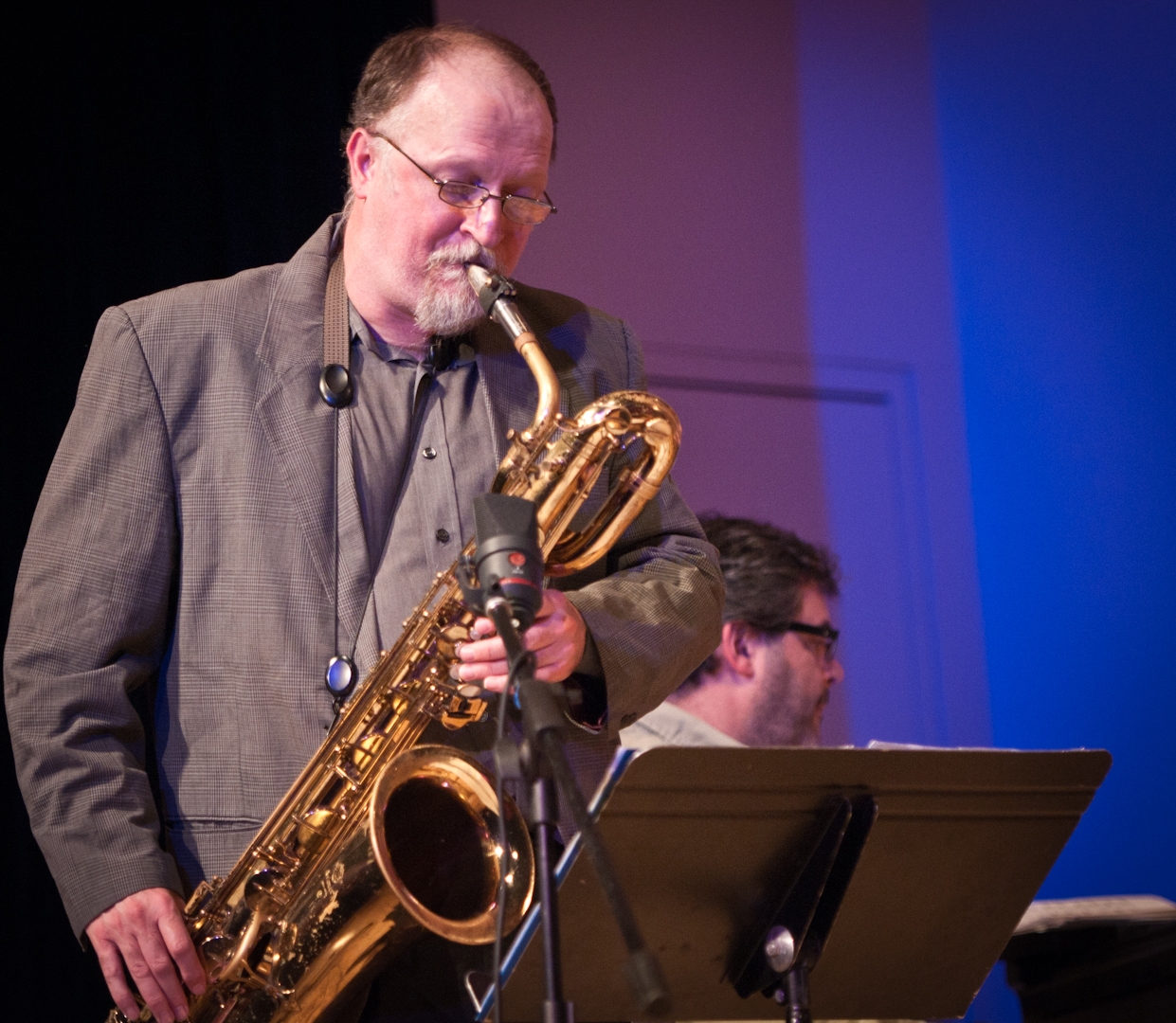 Charlie Kohlhase with the Either/Orchestra at the New School for Jazz