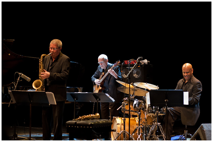 The Lost Chords ~ Andy Sheppard, Steve Swallow & Billy Drummond (with Carla Bley)
