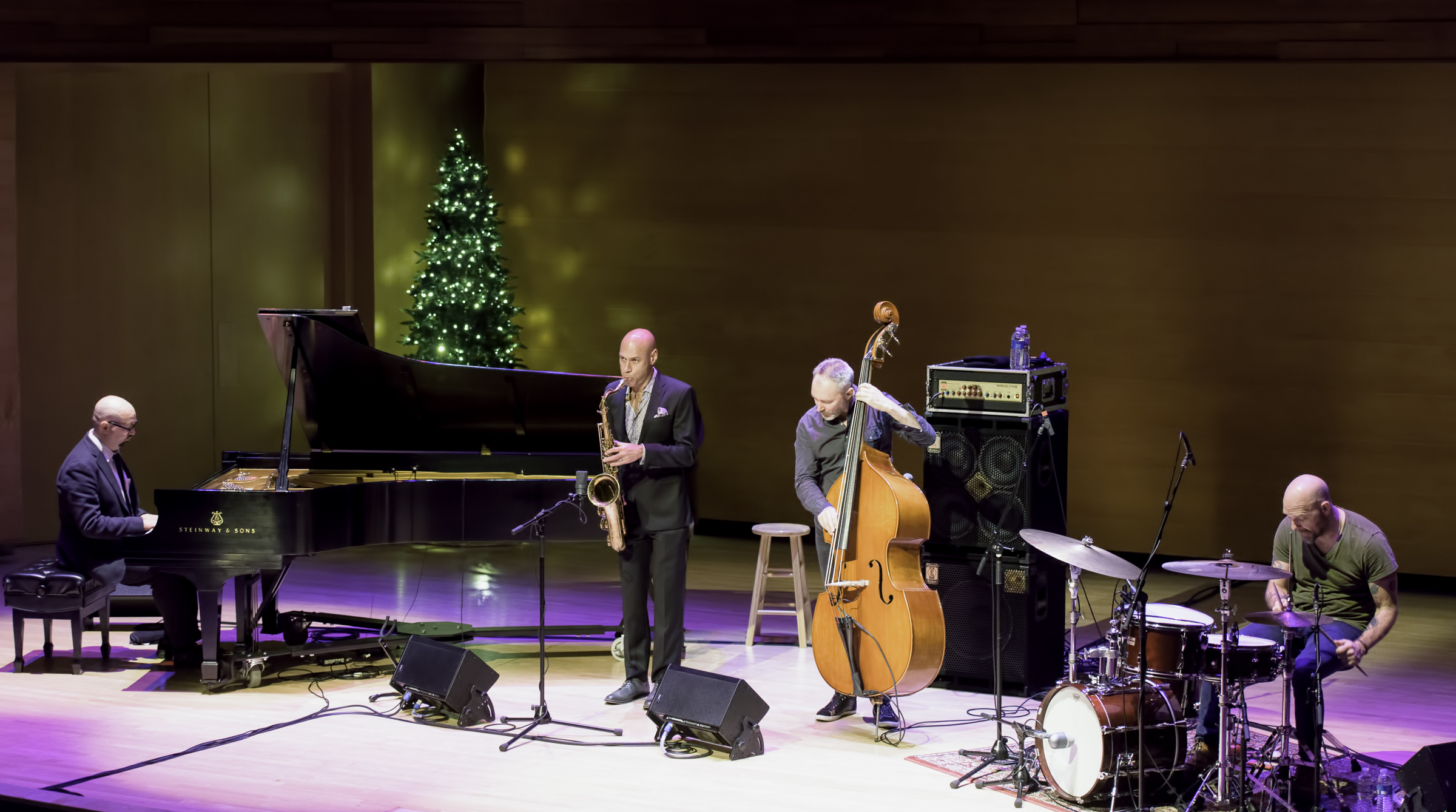 Ethan Iverson, Joshua Redman, Reid Anderson And Dave King With The Bad Plus At The Musical Instrument Museum (mim) Phoenix