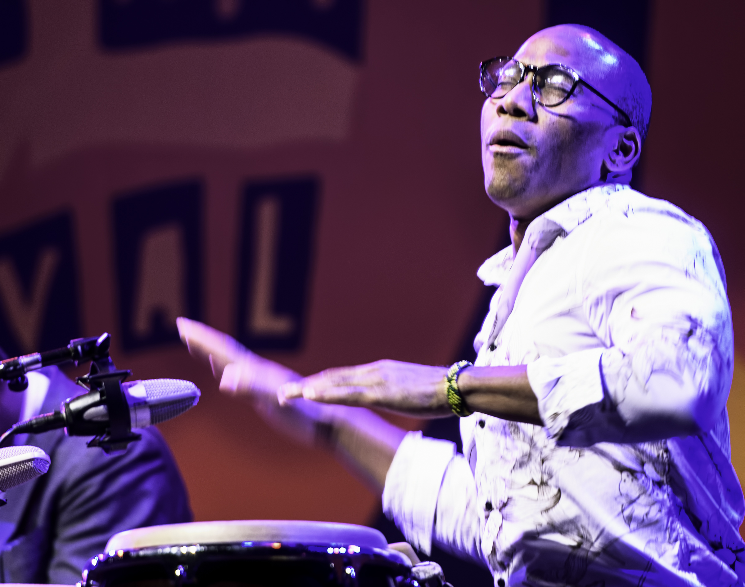 Pedrito Martinez with Kenny Baron's Tribute to Dizzy at 100 at the Monterey Jazz Festival