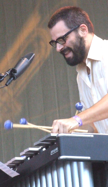Jason Adasiewicz with Mike Reed's Myth/Science Assembly at 2011 Chicago Jazz Festival