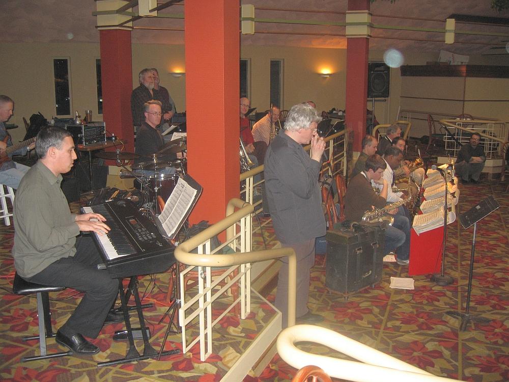Hendrik Meurkens & Misha Tsiganov w/ Des Moines Big Band, 2/7/11