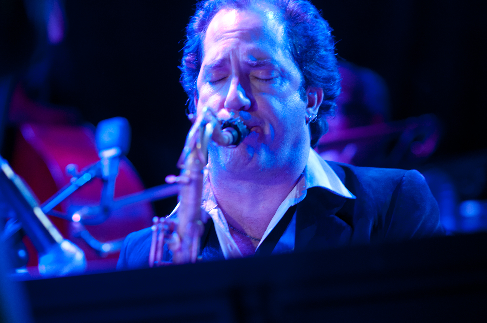 Peter Apfelbaum with Steven Bernstein's Mto Plays Sly at the Winter Jazzfest 2012